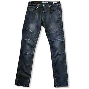 PROJEK   Raw Olkaria Slim Fit Black Jeans 34x32